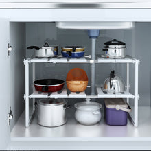 Load image into Gallery viewer, 2-Tier Under Cabinet Organizer