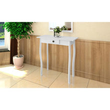 Load image into Gallery viewer, MDF White Console Table