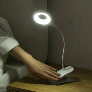 USB Clamp Clip On LED Reading Light