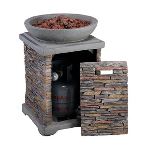 "20.08""X20.08""X29.33"" Outdoor Fire Pit"