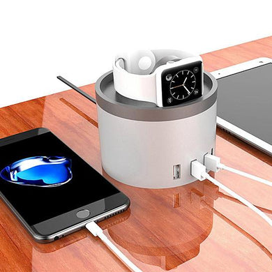 30W 4USB Port Charging Station For Latest Gadgets & Smart Watches
