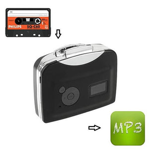Portable Cassette To MP3 Converter, No Computer Needed