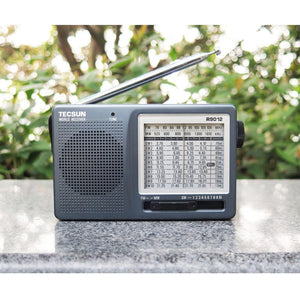 FM/AM/SW 12 Bands Portable High Sensitivity Radio