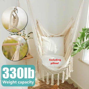 150kg Single-Person Swinging Chair Hammock