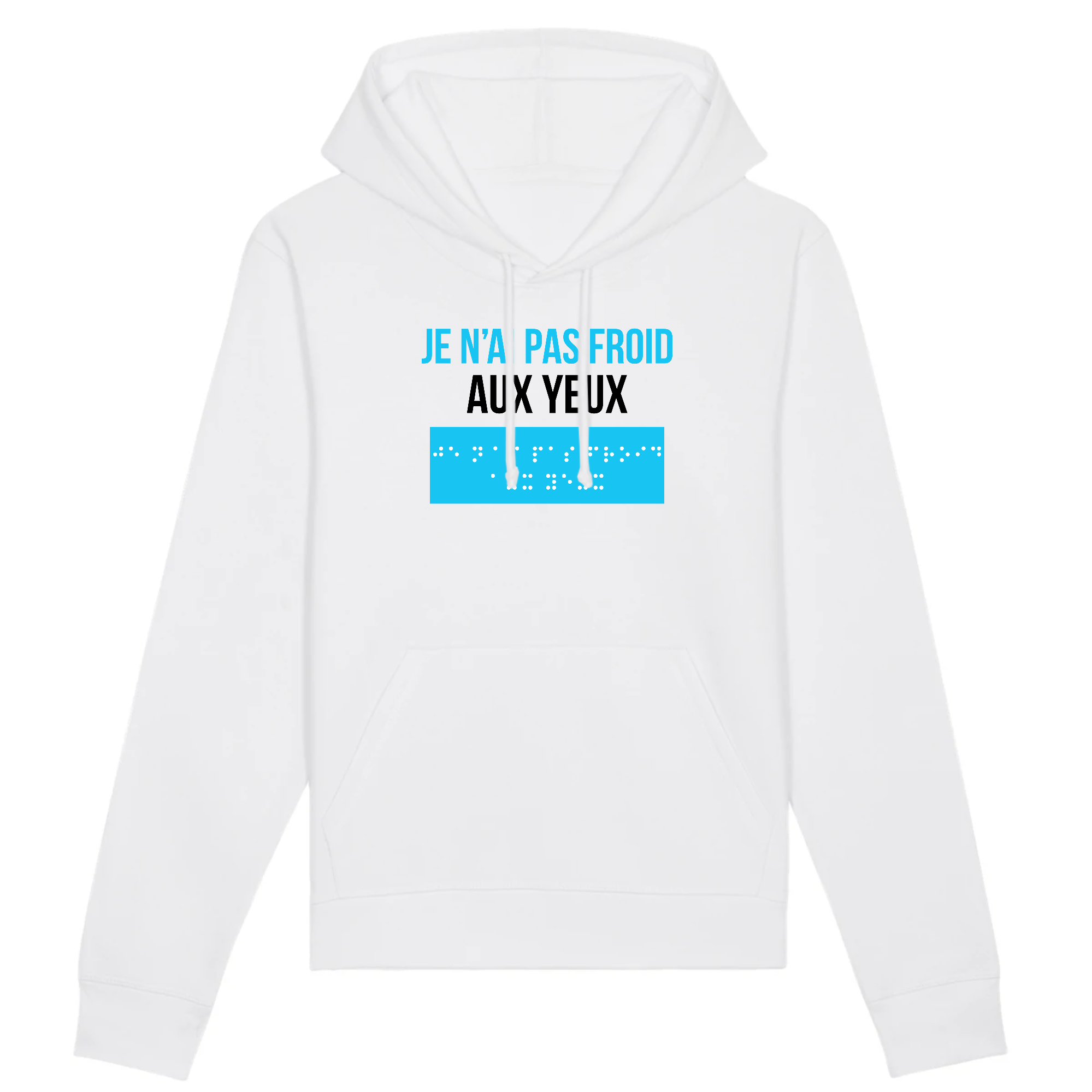 Hoodie Je N'Ai Pas Froid Aux Yeux