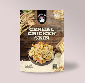 Cereal Chicken Skin (80g)