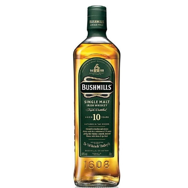 Bushmills Single Malt 10 Years Whiskey 70cl 40%