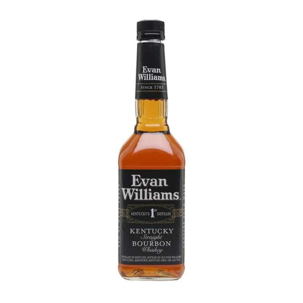 Evan Williams Black Bourbon 75cl 43%
