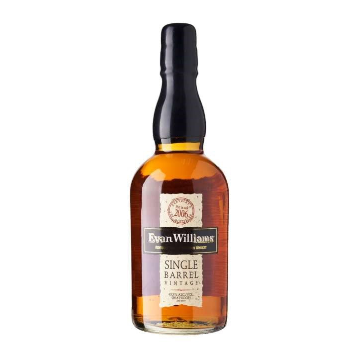 Evan Williams Single Barrel Bourbon 75cl 43.3%