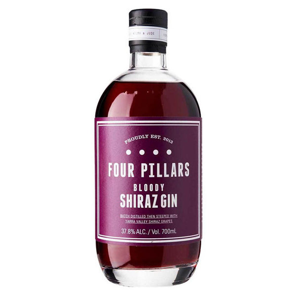 Four Pillars Bloody Shiraz Gin 70cl 37.8%