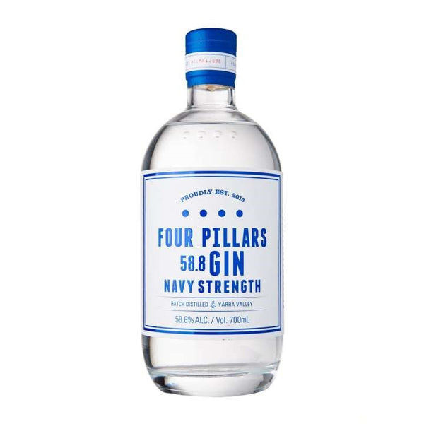 Four Pillars Navy Strength Gin 70cl 58.8%