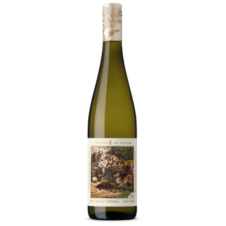 Hare and Tortoise Pinot Gris 2018 75cl