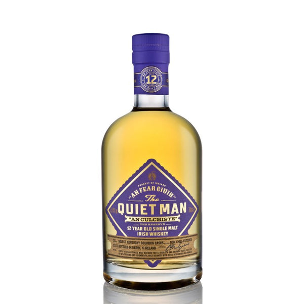 The Quiet Man 12 Year Single Malt 70cl 46%
