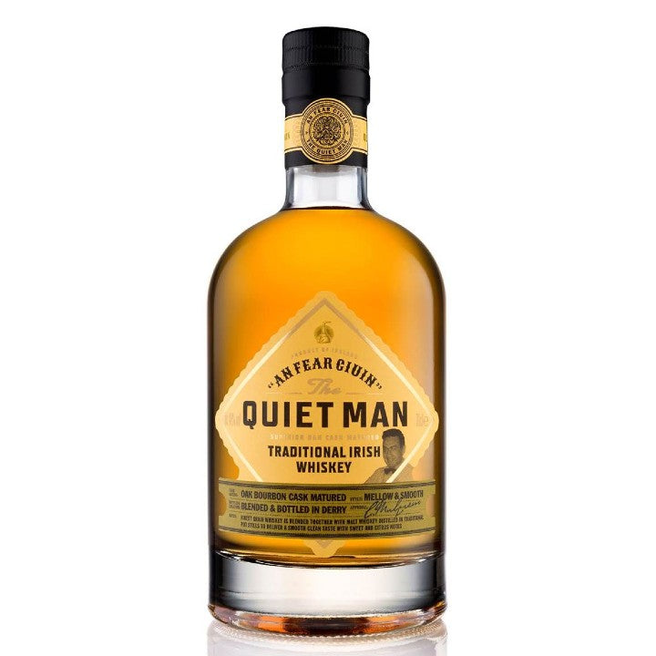 The Quiet Man Superior Blend Whiskey 70cl 40%