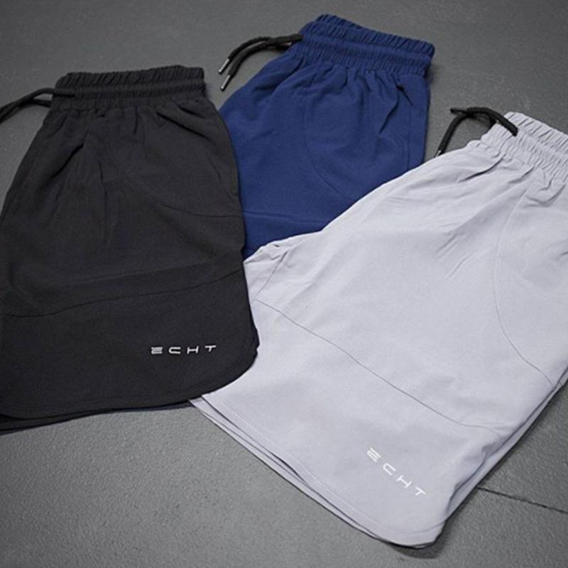 Summer Mens Run Jogging Shorts Gym Fitness Bodybuilding Workout Sports Sportswear - outoff
