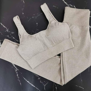 2 Piece Set Workout Clothes for Women - outoff