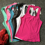Women Yoga Top Gym Sports Vest Sleeveless Shirts Tank Tops Sport Top Fitness Women Running Clothes Singlets - outoff