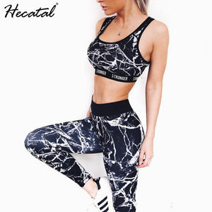 OUTOFF Fitness Sports Suit Yoga Set Tracksuit for Women - outoff
