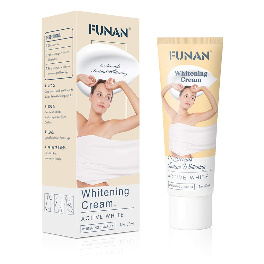 Whitening Cream Bleaching Cream for Armpit, Knees, and Private Areas for Black Skin or any Color Skin - outoff