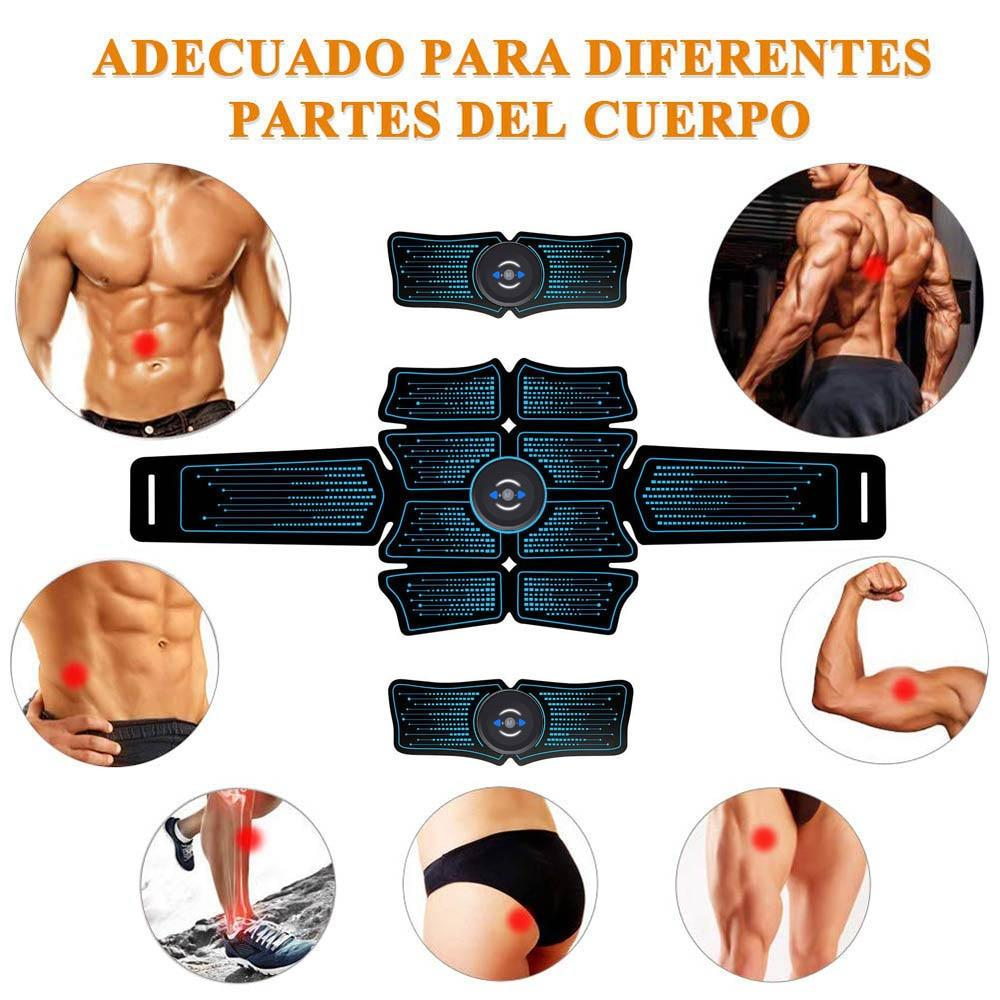 ABS Muscle Stimulator Hip Muscular Trainer Toner Home Gym Fitness Equipment Unisex - outoff