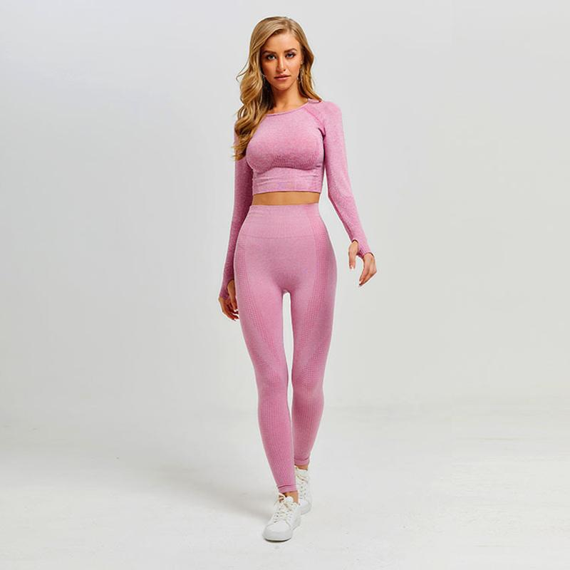 Women Vital Seamless Yoga Set - outoff