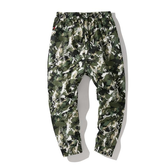 Harem Camo Pants Men Jogger Japanese Streetwear Joggers Men Pants Camouflage Hip Hop Trousers Men Pants - outoff