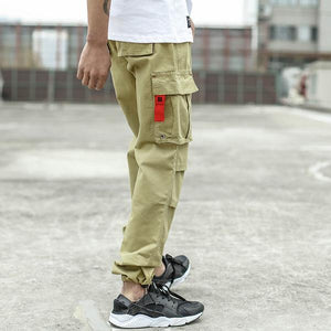 Men Jeans Casual Pants High Street Youth Style Jogger Pants Balplein Brand Loose Fit Jeans Men Cargo Pants - outoff
