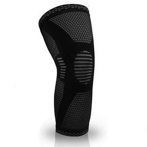Elastic Knee Pad Sports Fitness Kneepad Gym Gear - outoff