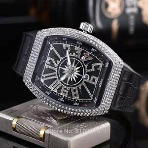 Luxury Diamond Japan Quartz Watch - outoff