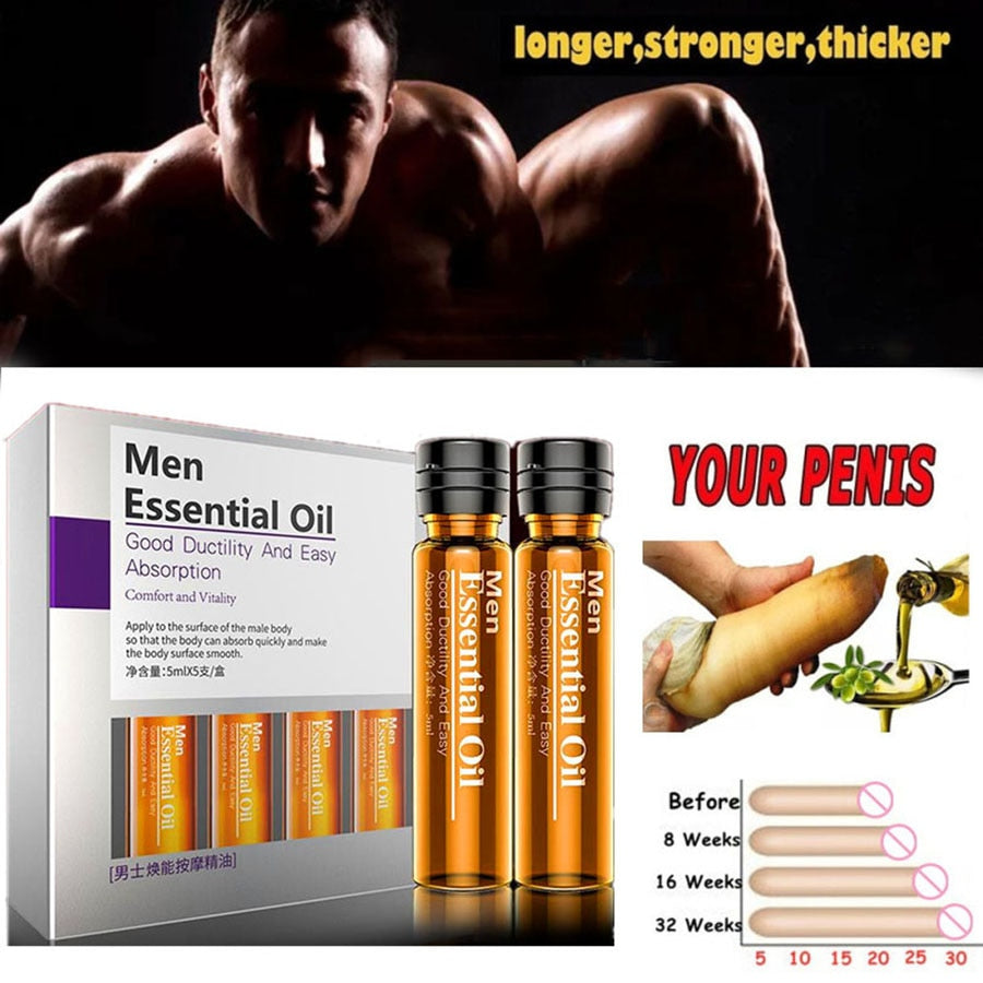 Penis Thickening Growth Man Big Dick Enlargment Liquid Cock Erection Enhance Men Health Care Enlarge Massage Enlargement Oils - outoff