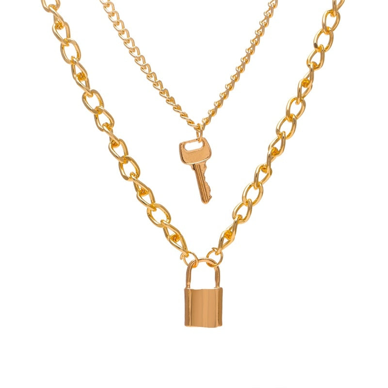 Pearl Round Coin Gold Necklaces - outoff