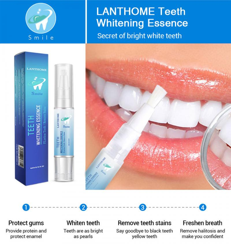 Teeth Whitening Pen Cleaning Serum Remove Plaque Stains Protect Oral Hygiene Care Gel Teeth Whitening Essence Toothpaste - outoff