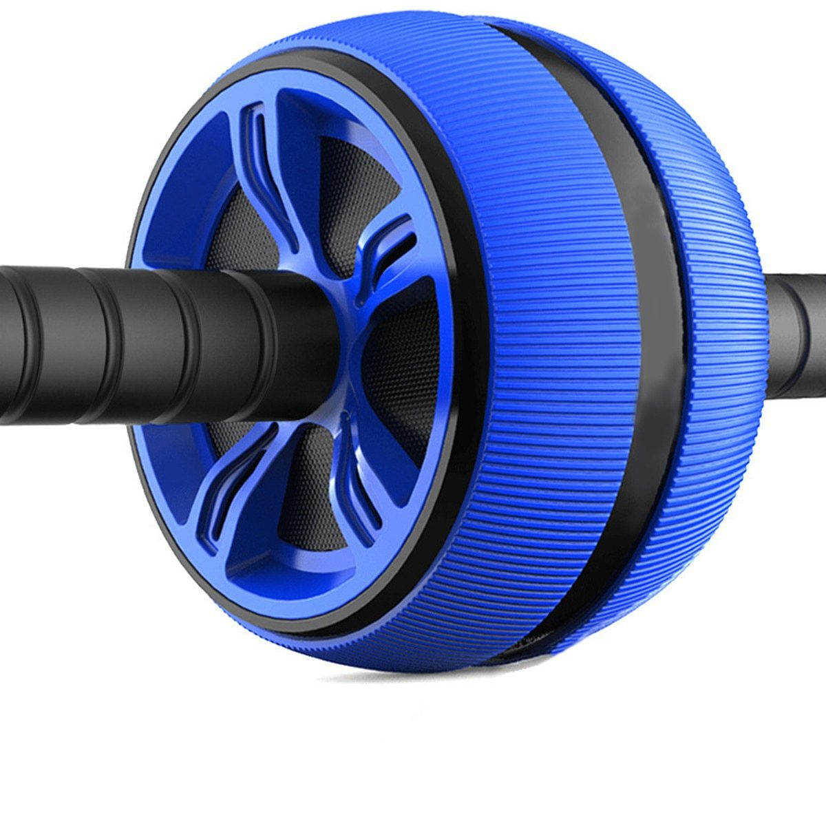 ABS Abdominal Roller Exercise Wheel Fitness Equipment - outoff