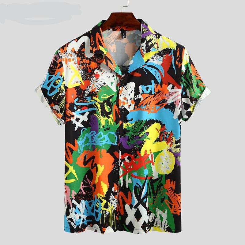 OutOff Summer Men Printed Shirt - outoff