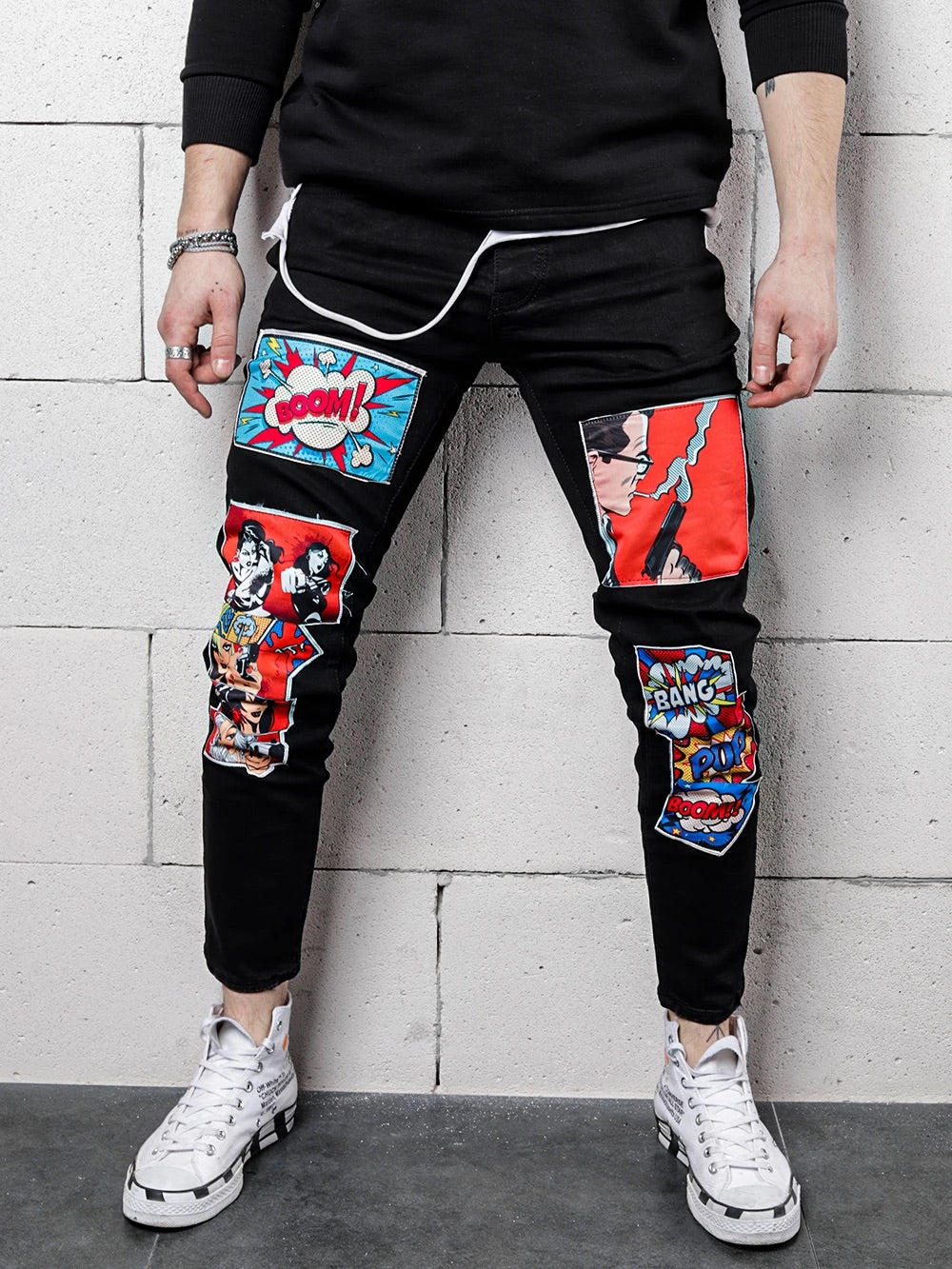 Outoff Comic Art Jeans - outoff