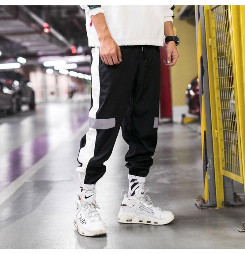 OutCloth Side Striped Harem Streetstyle Pants - outoff