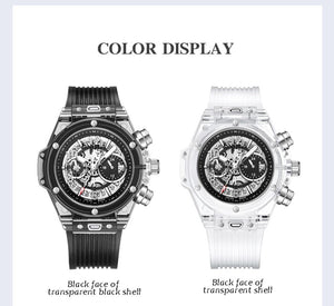 OutOff Transparent Fashion Casual Watch - outoff