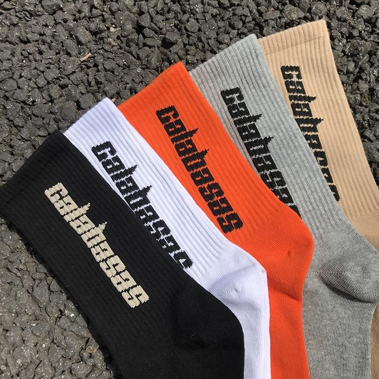 3 Pairs/Box Fashion Stock Crew Male Tide Street Europe Hip Hop Match 500 Tidal Youth Socks Men and Women Personality Socks - outoff