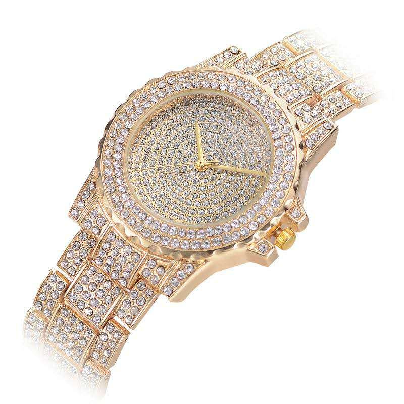 Iced Out Watches Luxury Quartz Wrist Watches S7878 - outoff