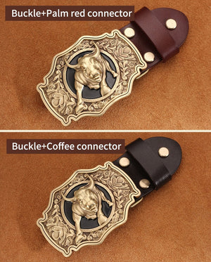Western Cowboy Jeans Belts for Mens Cool Motor Chains - outoff