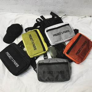 Functional Chest Rig Bag For Unisex Streetwear - outoff