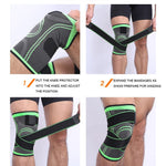 Knee Support Professional Protective Sports Bandage - outoff