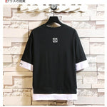 OutOff Fashion Half Short Sleeves Fashion T-shirt  Size M-5X. - outoff