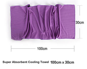 Outdoor Sports Absorbent Towel for Fitness, Yoga, Swimming - outoff