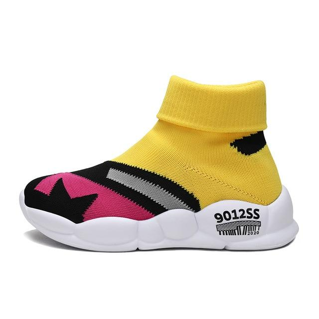 OutOff  Casual Shoes Kids High Top Socks Shoes - outoff