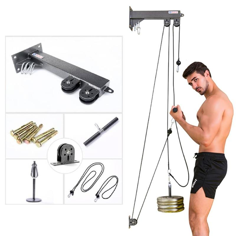 Fitness DIY Pulley Cable Machine For Home - outoff