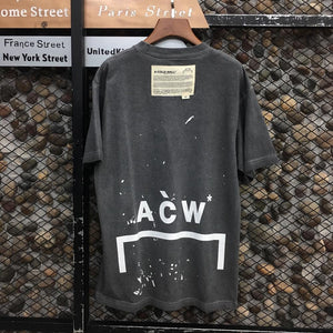 A COLD WALL T-shirt Men Women T-shirts Vintage Oversize - outoff