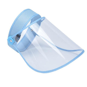Transparent Protective Hat Visor Cap For Virus - outoff