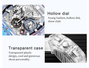 OutOff Transparent Fashion Casual Watch v2 - outoff