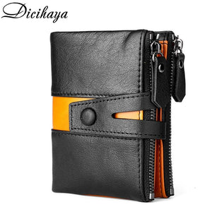 OutOff 100% Genuine Leather Men Wallet - outoff